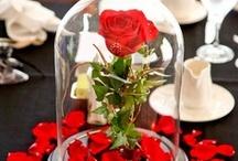 Wedding Centerpieces Red