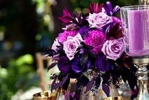 Wedding Centerpieces Royal Purple