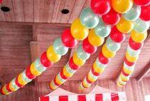♥Decoración con globos / balloon decoration♥