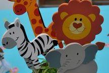 ♥Animalitos de la Selva, Jungla, Safari....♥ / Monitos, Jirafas, Elefantes, Cebras, Hipopótamos y más