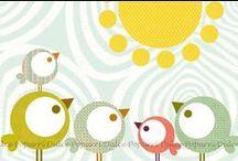 ♥Pajaritos y Mariposas / birds and butterflies♥