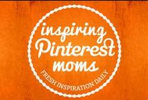 Inspiring Pinterest Moms / Creative and inspiring moms to follow on pinterest - linked up on MollyMoo's Pinterest Blog Hop.  Come follow, share and connect with moms who will wow and entertain you with their boards.... creative moms who use Pinterest to collect and share what inspires them, crafts, creative and educational projects, cool toys, recipes, decorating tips, fashion, trending topics, parenting and much much more.