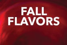Fall Flavors / Flavors of fall range from Caramel to Pumpkin and Pecan Pie to crisp Apple. Mix it up with your next fall cocktail.