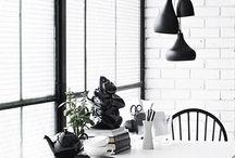 | Black Interiors | / dramatic blacks make every interior personal