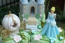 ♥Cinderella / Cenicienta♥ / Ideas, tutoriales  y decoraciones para fiestas temáticas de Cinderella o Cenicienta.