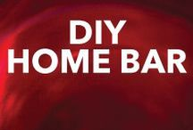 DIY - Home Bar / A collection of fun DIY Home Bar ideas. Build it and then come to Binny's for supplies!