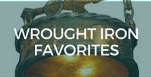 Wrought Iron Favorites / Favorite Wrought Iron Products.