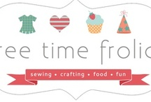 Free Time Frolics!  / Sewing, crafts and fun stuff from my blog! / by Adrienne {FreeTimeFrolics.com} Blogger