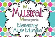 Elementary Music Education / My Musical Menagerie: #Kodaly and #Orff #ElementaryMusic Classroom Resources