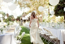 White Wedding Ideas / Some of our favourite White wedding decorations / by Pink Frosting