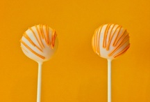 Orange, Tangerine and a little Lemon / Some of our favourite orange tones for weddings and parties / by Pink Frosting