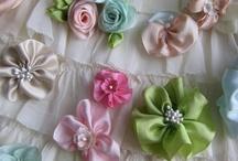 Bows, Ribbons N Flowers / by Nancy DeBoer