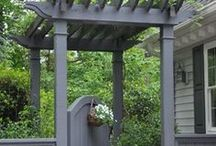 Outdoor spaces/landscaping / by Helen D
