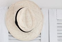 Heads Up _|- -|_ (Hats) / Define yourself !  / by Nanette Minichiello
