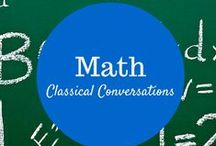 Math / Homeschool Math supplementing Classical Conversations / by Nikki Landrum