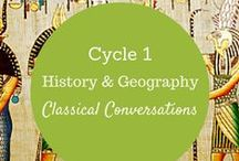 Cycle 1 History & Geography / Classical Conversations www.owassoccsouthwest.com www.facebook.com/owassoccsw / by Nikki Landrum