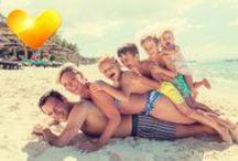 Riemulomia lapsiperheille / Lasten iloinen kikatus sen kertoo: perheen vesipedot viihtyvät ja nauttivat lomastaan! Silloin myös aikuisilla on mukavaa ja koko perheen loma sujuu kuin elokuvissa. Perhehotelliemme valikoima tarjoaa runsaasti vaihtoehtoja erilaisiin lomatoiveisiin. Tutustu ja varaa riemuloma perheellesi!