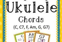 Ukulele -- Elementary Music Education / My Musical Menagerie: Kodaly and Orff Elementary Music Classroom. Activities, Songs, and Guides for Ukulele