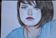 Mrs CoOp3r dessinatrice de portrait / Passionnée par le dessin, j'adore dessinée les portraits, les expressions ...