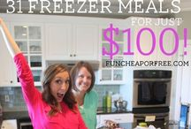 Good Eatin' -- Freezer Meal Ideas / Because sometimes you just don't want to cook. . .
