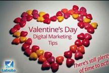 Inspirations St. Valentin / Sélections d'idées de communications autour de la St. Valentin