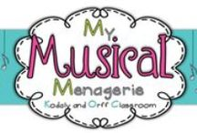 Blogs-- Elementary Music Education / My Musical Menagerie: Kodaly and Orff Classroom. A collection of music teacher blogs! If you read a blog that you'd love on this board please email me at mymusicalmenagerie at gmail dot com with the info (just change the word at to @ and the dot to a period with no spaces)