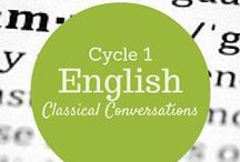 Cycle 1 English Grammar / by Nikki Landrum