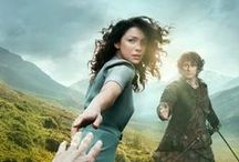 Jamie & Claire/Outlander / Outlander Series--Claire's journey through time to Scotland in the 1740's