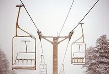 Board Games. / Snowboarding | Mountains | Snow | Standing Sideways | Powder | Winter
