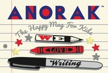 Writing Edition / We are addicted to writing. That's the theme of our 28th edition. / by Anorak Magazine