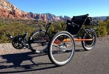 Our Trikes / Getting out and exploring the outdoors in the most comfortable way possible is what we're all about. We have a trike model to meet every rider's needs, whether it's speed, touring, or traveling.  / by TerraTrike