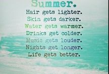 Summer time / I can t stop thinking about the beach and the sun!