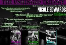 Timberlyn Scott / Timberlyn is my sweeter alter ego. She writes 1st person POV contemporary romance, and her first full trilogy - UNHINGED - is out now! http://timberlynscott.com/