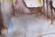 Monotype pastel. / Monotype pastel.