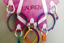 Organizing Hair Accessories / Inspiration and Our Own Creation for hair accessory organization