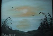 paintings done / Paintings I have done the past couple years.  / by Amy Lindahl