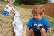 with kids / Fun things to do with kids! / by Amy Lindahl