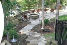 Yard/Patio Ideas / by Heather Tuley