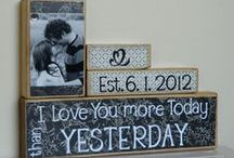gift/craft ideas / by Amy Lindahl