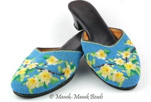 Kasut Manek - Beaded Shoes / by Helena Tang-Lim