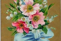 Vintage illustrations... Flowers