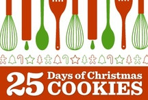 25 Days of Christmas Cookies / Twenty-five days, twenty-five cookies recipes! Count down to Christmas with these fun and festive cookie recipes!
