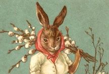 Vintage illustration... Pâques... Easter