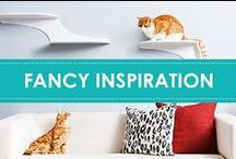 Fancy Inspiration / Home décor, cat artworks, cat beds and special finds in-between. We can't deny it - cats are always inspiring us.