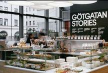 Retail, Public & Food places