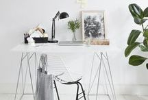 Office / Favorite office spaces and organizational tools.
