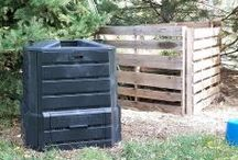Composting / The road to great gardens is paved with compost.  There are hundreds of ways to do it - learn more at http://www.gardeningknowhow.com / by Gardening Know How