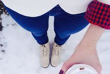 winter fashion / by Belle Pauley