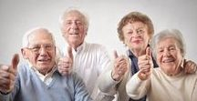 Activities for Seniors / Activity and Crafts Ideas to promote mental, physical and emotional wellness in older adults.