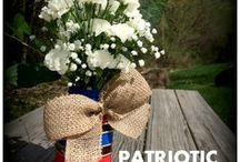 Patriotic Holidays / Crafts, decorations, and supplies for all patriotic holidays like 4th of July, Flag Day, Memorial Day, Veterans Day, D-Day, and Armed Forces Day.